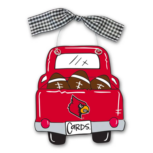 UofL Country Truck Ornament