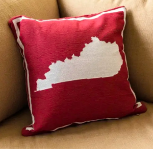 Kentucky State Pillow - Red