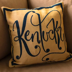 Kentucky Pillow - Yellow