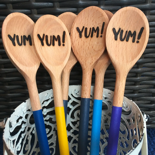 Yum-Making Wooden Spoon