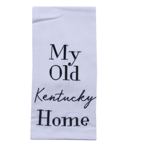 My Old KY Home Tea Towel