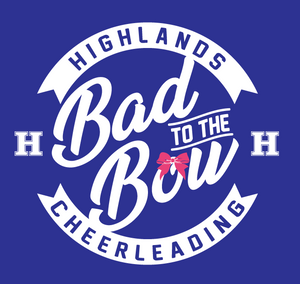 Highlands Cheer Bad to the Bow