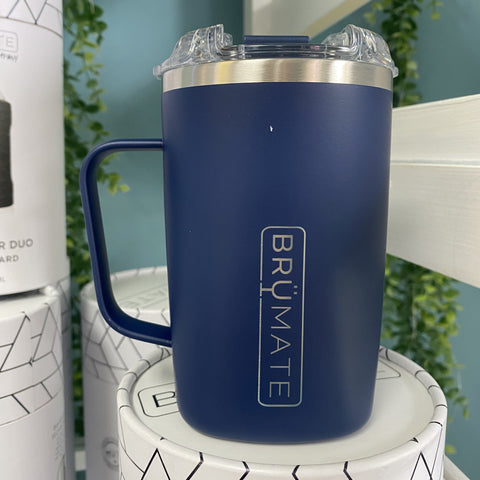 Hot Toddy 16oz. Travel Tumbler - Matte Navy