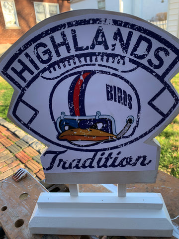 Highlands Football Tradition Decor