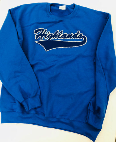 Highlands Vintage Distressed Sweatshirt (Youth)