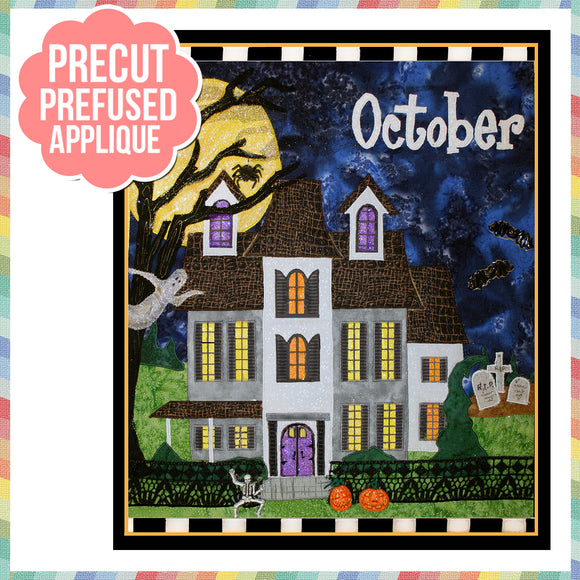 Holiday Houses - October - Full Kit (Includes Background & Binding)