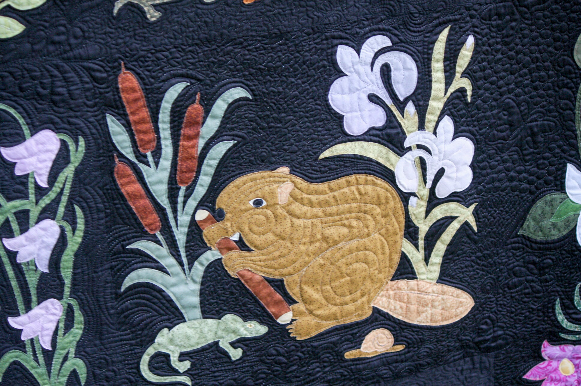 Woodland applique patterns hedgehog pdf applique quilt block