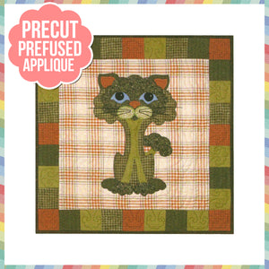 Garden Patch Cats - Broc-kitty Laser Cut Pre Fused Applique Quilt Kit