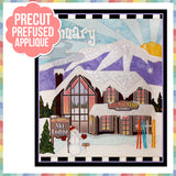 Holiday Houses - January - Full Kit (Includes Background & Binding)