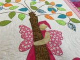 Fairy Tales PINK Laser Cut Pre Fused Applique Quilt Kit