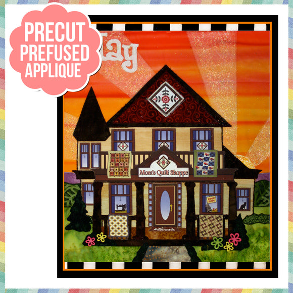 Holiday Houses - May - Full Kit (Includes Background & Binding)