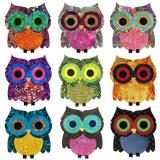 Ollie the Owl (11 Fabric Variations)