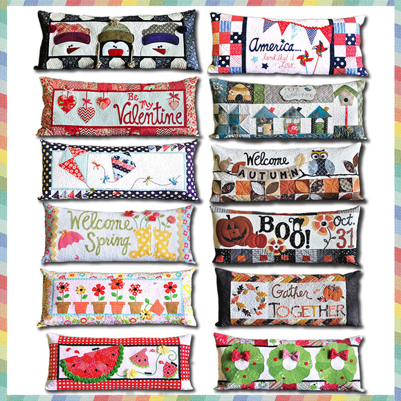 Bench Pillows (All Months Bundle)