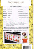 May Flowers (May) Laser Cut Pre Fused Applique Quilt Kit