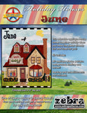 Holiday Houses - June - Full Kit (Includes Background & Binding)