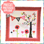 Let Me Call You Tweetheart Laser Cut Pre Fused Applique Quilt Kit