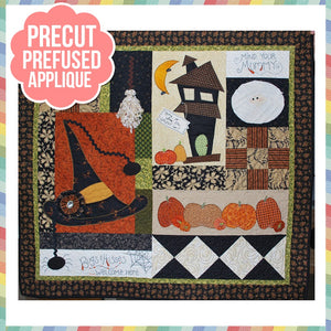 Home Is Where the Haunt Is Laser Cut Pre Fused Applique Quilt Kit
