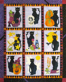 Spooky Hallows - All Blocks Laser Cut Pre Fused Applique Quilt Kit