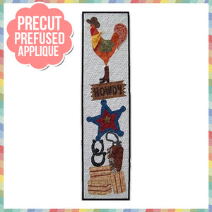 Howdy Laser Cut Pre Fused Applique Quilt Kit