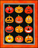 Pumpkins Laser Cut Pre Fused Applique Quilt Kit