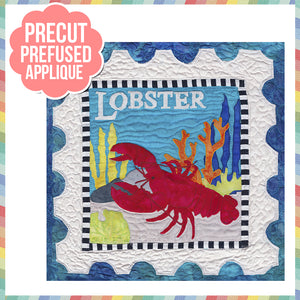 Sea Life-Lobster Laser Cut Pre Fused Applique Quilt Kit