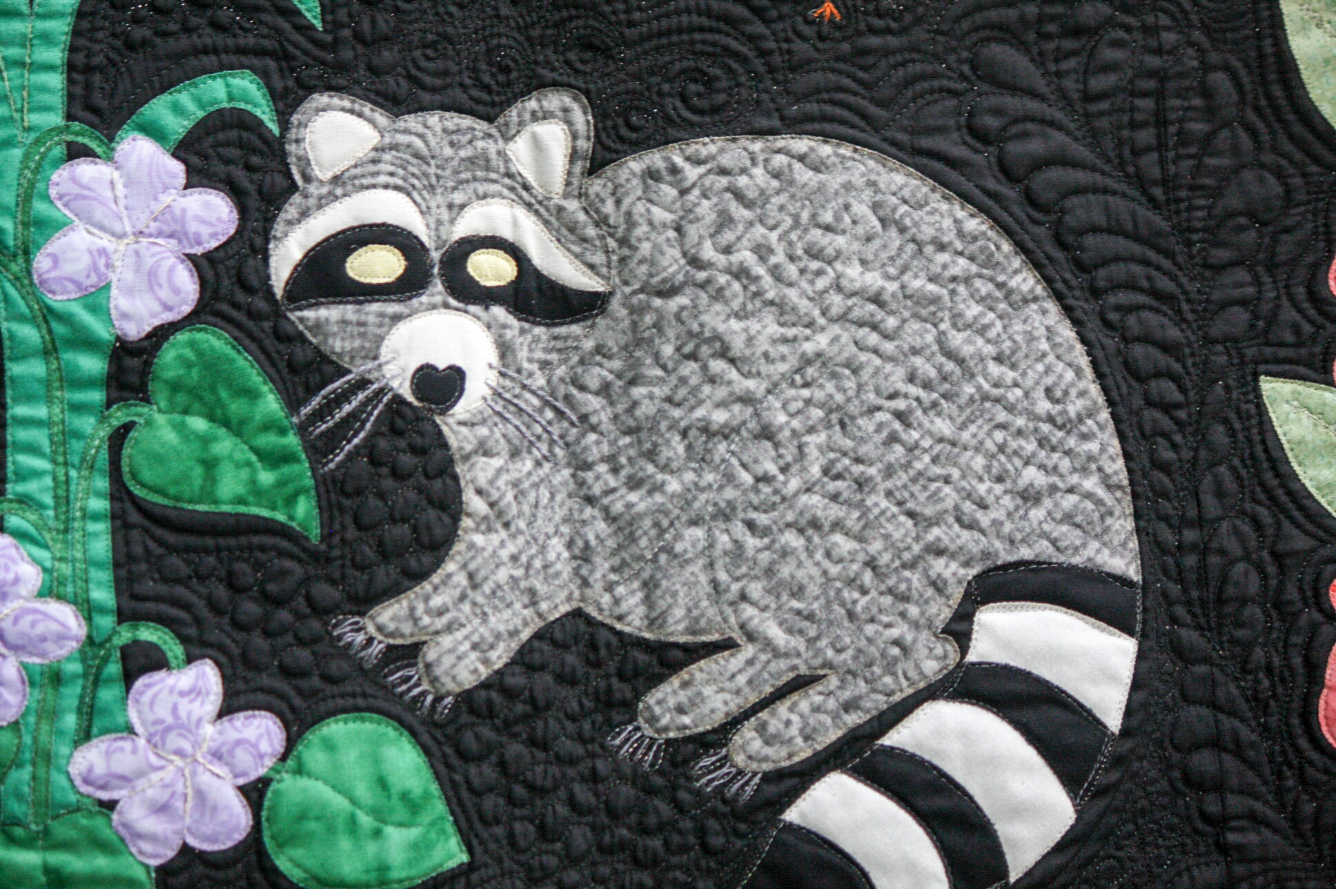 Woodland animals applique quilt pattern woodland creatures baby