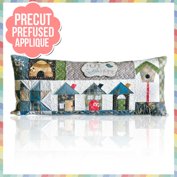 Home Sweet Home (August) Laser Cut Pre Fused Applique Quilt Kit