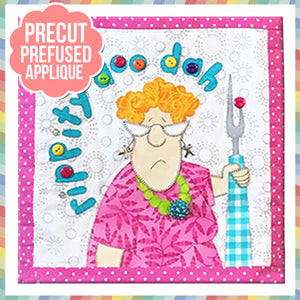 Rippity Doo Dah Laser Cut Pre Fused Applique Quilt Kit