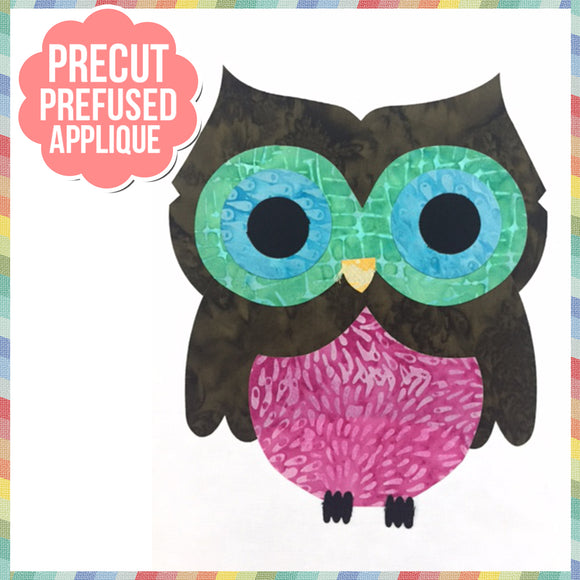 Ollie 8 Laser Cut Pre Fused Applique Quilt Kit