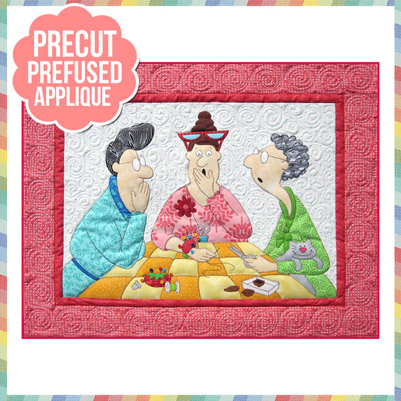Stitch a Little Laser Cut Pre Fused Applique Quilt Kit