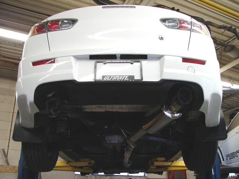 09 Ralliart 3 Single Exit Catback: Evo X Single Exhaust At Woreks.co
