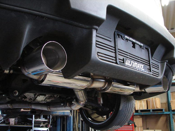 Evo X 3 Quot Dual Exit Catback Exhaust Ultimate Racing
