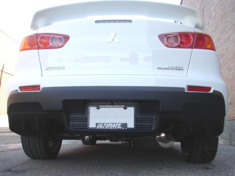 Evo X 3 Single Exit Catback Exhaust: Evo X Single Exhaust At Woreks.co