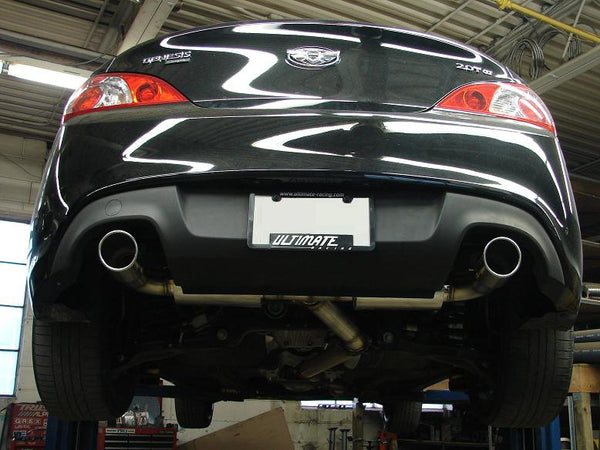 Genesis Coupe 2 0t 3 Quot Dual Catback Exhaust Ultimate Racing