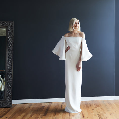 Houghton Bride Collection does edgy for Glitter and Grit