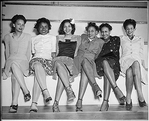 1950's Women  / Vintage Black Female Friends