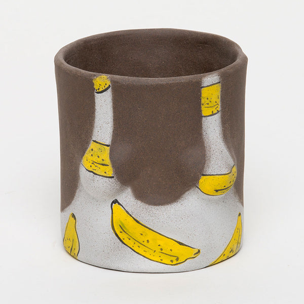 Banana Ceramic Planter - Calligramme