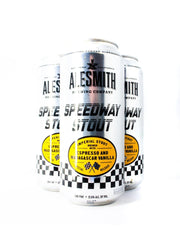 Find and buy AleSmith Speedway Stout With Espresso And Madagascar Vanilla at Beer Republic. Europe's no.1 store for the best craft beer from America, United States, Russia, New Zealand, Canada, Norway, Estonia, The Netherlands, Holland, Spain, Belgium, Latvia, Sweden, like ipa, stout, porter, barley wine, pale ale, blond, quadrupel, hard seltzer, dark, light beer and more.