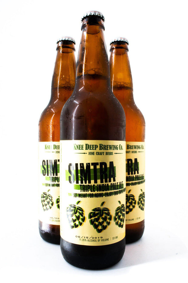 Find and buy Knee Deep Simtra at Beer Republic. Europe's no.1 store for the best craft beer from America, United States, Russia, New Zealand, Canada, Norway, Estonia, The Netherlands, Holland, Spain, Belgium, Latvia, Sweden, like ipa, stout, porter, barley wine, pale ale, blond, quadrupel, hard seltzer, dark, light beer and more.