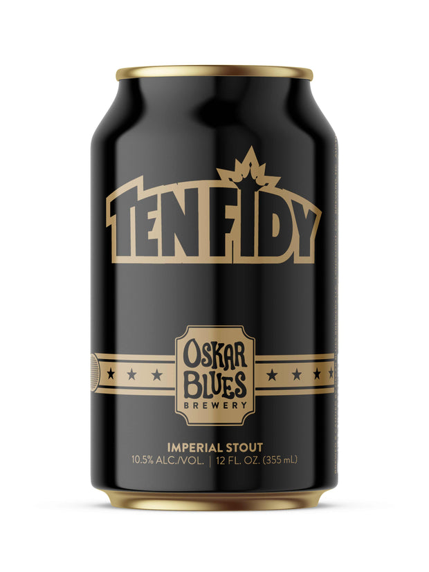 Find and buy Oskar Blues Ten Fidy at Beer Republic. Europe's no.1 store for the best craft beer from America, United States, Russia, New Zealand, Canada, Norway, Estonia, The Netherlands, Holland, Spain, Belgium, Latvia, Sweden, like ipa, stout, porter, barley wine, pale ale, blond, quadrupel, hard seltzer, dark, light beer and more.