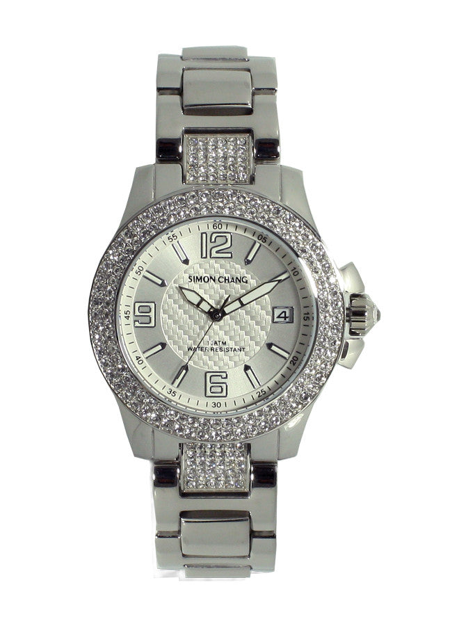 Simon Chang SC118.3WHT Chronograph