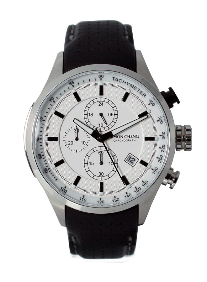 Simon Chang SC210.3WHT Chronograph
