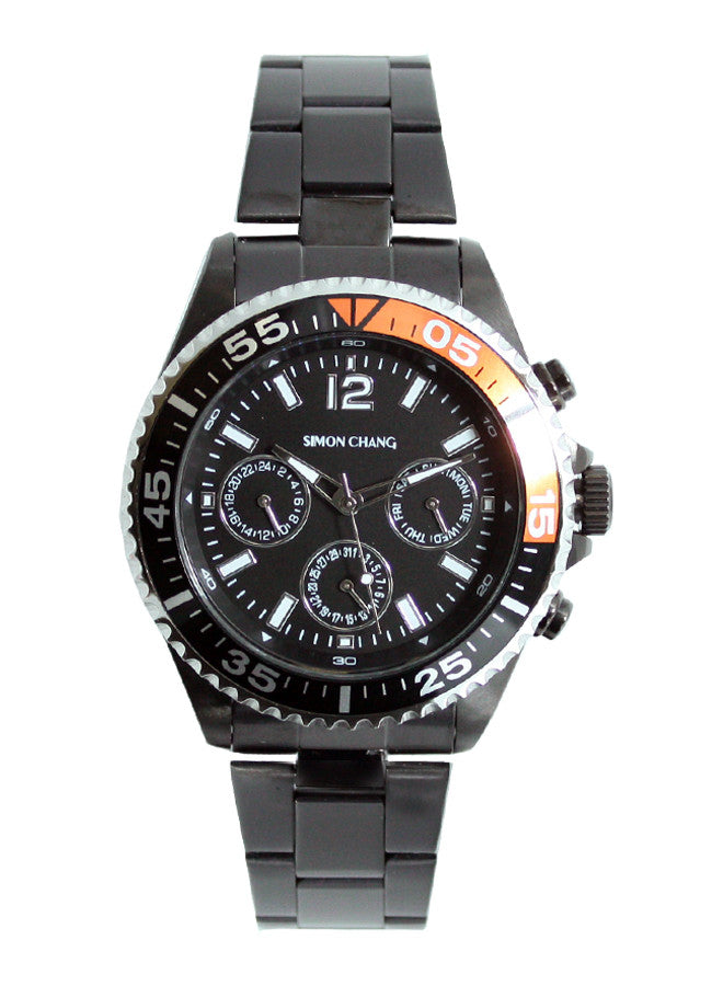 Simon Chang SC237.13 Black Chronograph