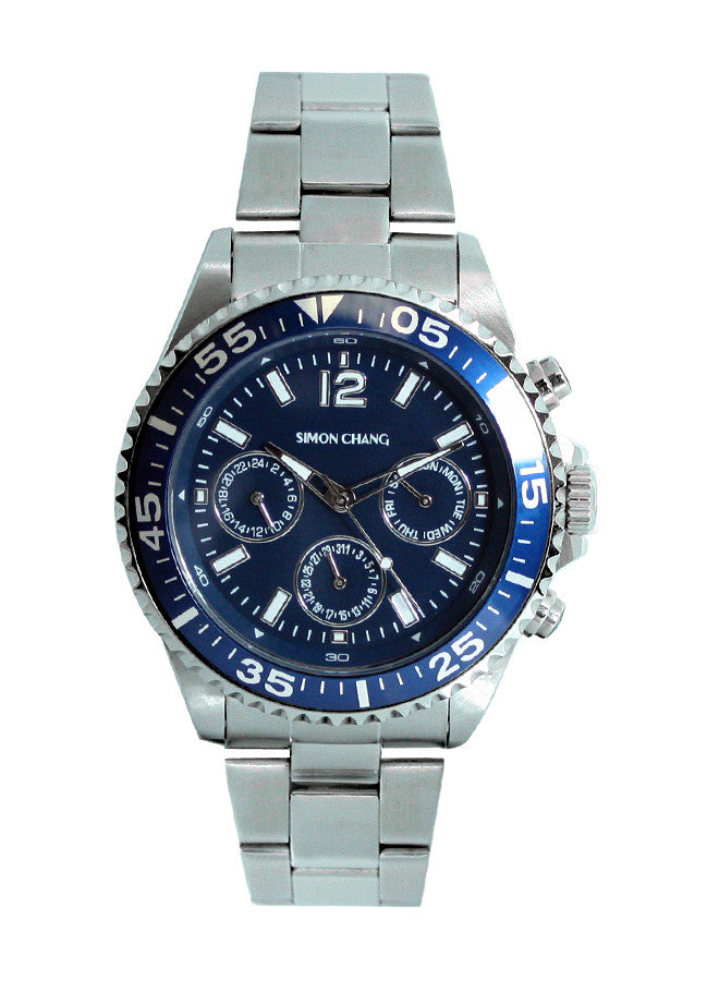 Simon Chang SC237.3 Blue Chronograph