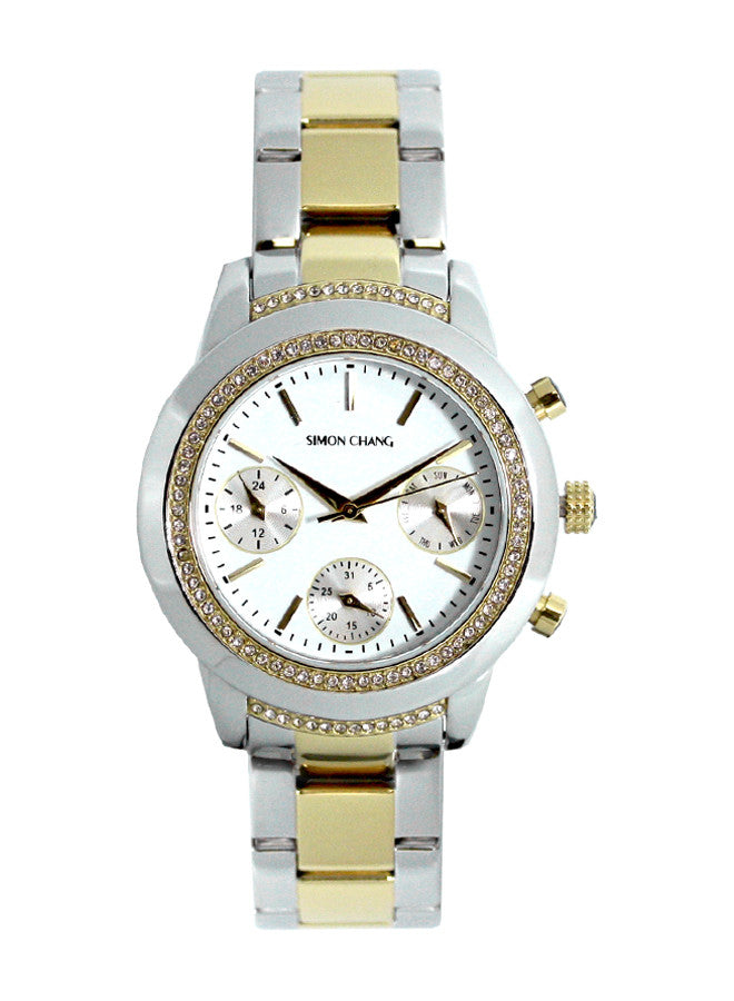 Simon Chang SC239.6 White Lady Chronograph