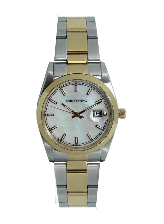Simon Chang SC240.6 Silver Sunray large date