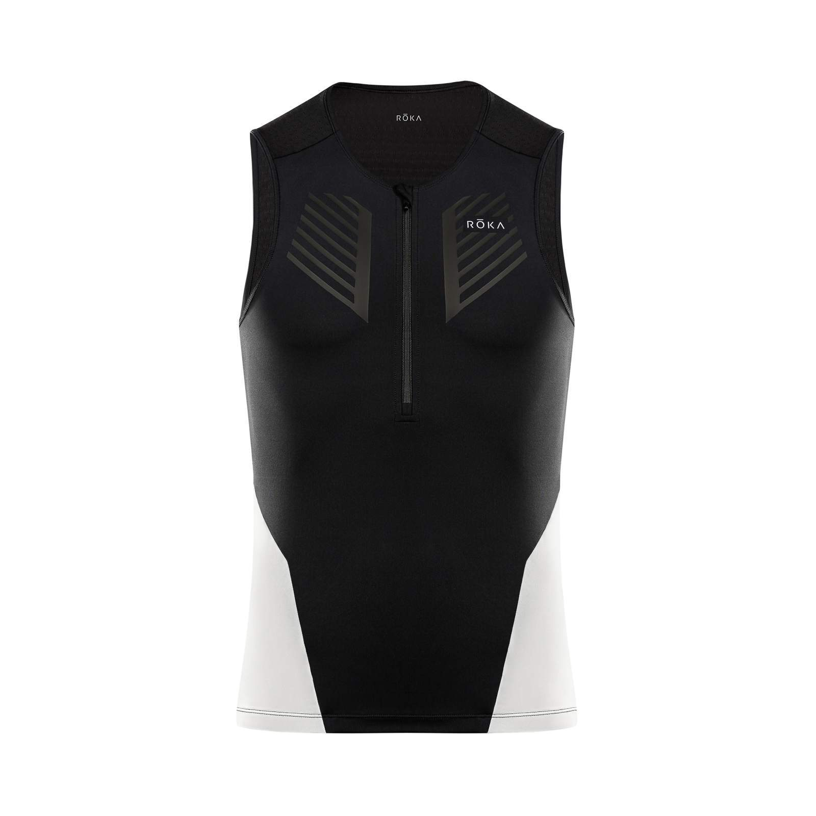 Men's Comp Sleeveless Tri Top - Black