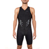 Men's Gen II Elite Aero Sleeveless Tri Suit - Front View on Athlete - Fastest Tri Suit