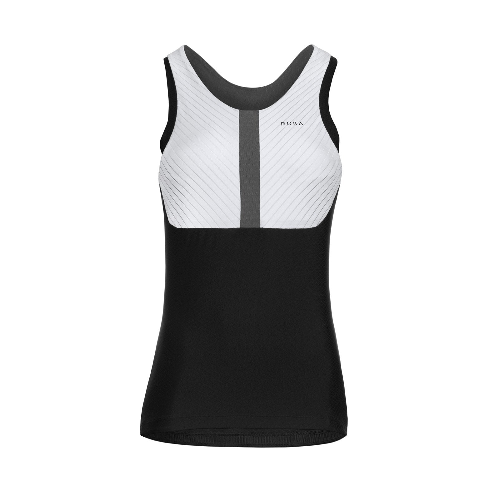 Women's Gen II Elite Aero Sleeveless Tri Top - White Triathlon Top