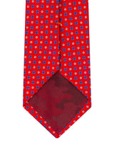Red Satin Neat Tie